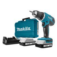 Makita DF457DWE - Perceuse visseuse à batteries 18V Li-Ion set (2x batterie 1,3Ah) dans coffret