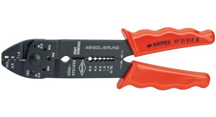 Knipex 9721215b Pince à sertir 9721215b Câble connecteur câble pince 97 21 215 B