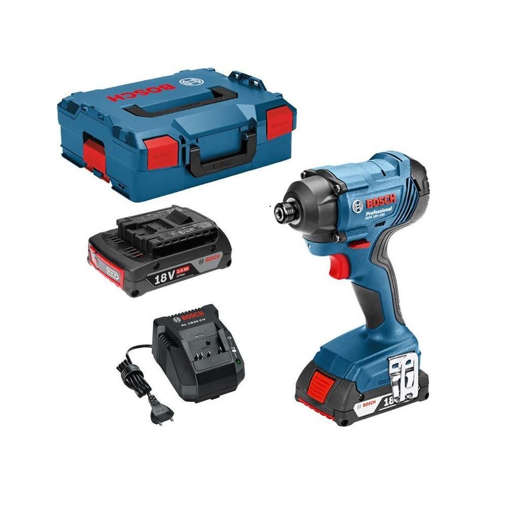 sans batterie, 18 V, couple maxi : 160 Nm , L-BOXX Bosch Professional visseuse /à chocs GDR 18V-160