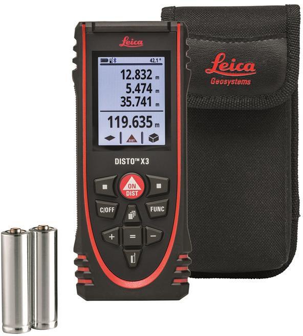 Leica DISTO D110 60 m Laser Distance doseuse