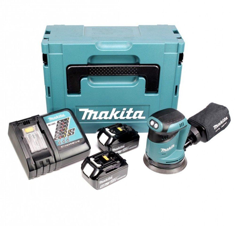 Makita DBO180RMJ Ponceuse excentrique 125 mm /à batteries 18 V