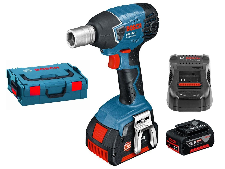 Bosch Professional Visseuse /à Chocs sans fil GDS 18 V-EC 250 06019D8100