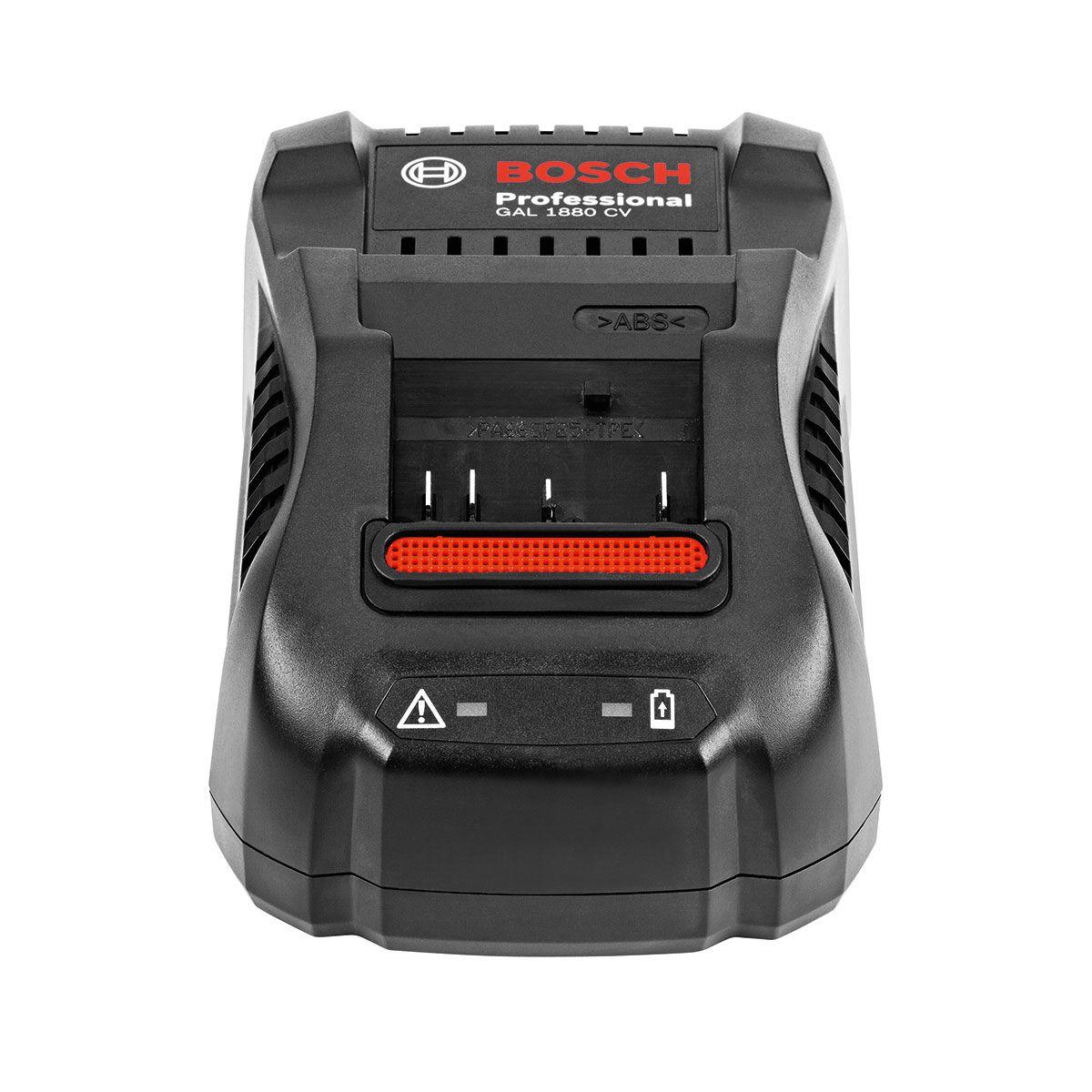 Bosch Gal 1880 CV Li-Ion Batterie Rapide Chargeur 14,4 V 18 V 2607225424
