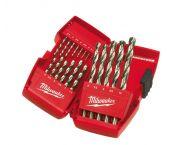 Milwaukee 4932352374 Set de forets métaux Thunderweb HSS-G - dans coffret plastique - (19 pièces)