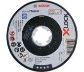Bosch 2608619252 - X-LOCK Disque à tronçonner Expert for Metal 115x1.6x22.23mm, plat