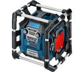 Bosch GML 20 PowerBox 360 - Radio de chantier Li-Ion 14,4-18V - Sur secteur ou sur batterie - 0601429700