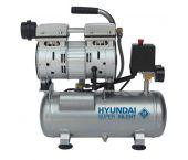 Hyundai 55751 - Compresseur silencieux sans huile - 8bar - 6L