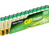 GP 03024AS12 / Alkaline Super AAA 12