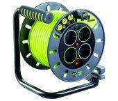 Masterplug Pro-XT - Enrouleur de câble - 25 m - 4 prises - OMG25164SL-PX