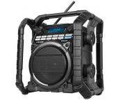 PerfectPro STEAMPACK2U Radio de chantier - FM RDS - DAB+ - USB - Bluetooth - Aux-in - secteur & pile