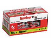 fischer 555005 Cheville Duopower 5x25-100