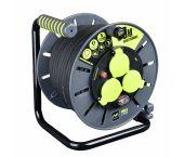 Masterplug Pro-XT - Enrouleur de câble - 30m - 3 prises - IP44 - OLG3016RR3IPSL-PX