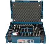 Makita B-43044 - Coffret ensemble accessoires 66 pièces en coffret MAKPAC