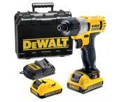 DeWalt DCF610D2 Visseuse à batteries 10.8V Li-Ion set (2x batterie 2,0Ah) dans coffret - DCF610D2-QW