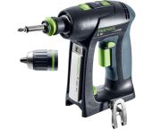 Festool C 18 LI BASIC - Perceuse visseuse Li-Ion 18V(machine seule) dans systainer - 45mm - moteur brushless - 45Nm