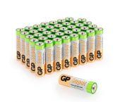 Piles GP Alkaline super - AA - 1,5V (40 pce) - 03015AB40