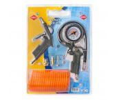 Airpress 4300027Jeu d'accessoires pour outils pneumatiques - 6 pièces