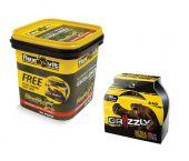 Flexovit PerFlex Set de disques de coupe dans seau de rangement - 125 x 1,0 x 22,23mm (60pc) + Grizzly Tape - 66252845416