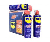 WD-40 Spray Double Position avec Smart Straw - 450ml - 6 pièces - 31981