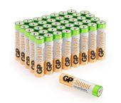 Piles GP Alkaline super - AAA- 1,5V (40 pce) - 03024AB40