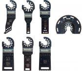 KWB 49708000 - Set de lames pour outil multifonction (7pcs) - Akku Top