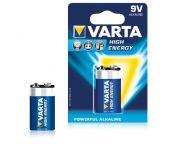 Varta High Energy Pile - Alcaline - 9V - 4922121411