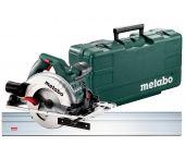 Metabo KS 55 FS Scie circulaire dans coffret & rail de guidage - 1200W - 160mm - 690738000