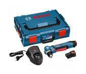 Bosch GWB 10,8-Li Perceuse visseuse d'angle à batteries 18V Li-Ion set (2x batterie 2.0Ah) in L-Boxx - 0601390908