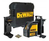 DeWalt DW088K Laser en croix dans mallette - 2 lignes - Rouge - 15m