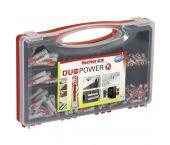 fischer 535973 - fischer redbox Cheville tous matériaux fischer DuoPower (280pcs) RED-BOX DuoPower