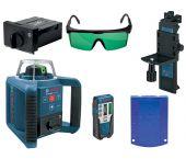 Bosch GRL 300 HVG - Laser rotatif dans coffret - accessoires inclus - 100m - vert - 0601061701
