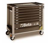Beta C24SAXL/8-G - Servante mobile d'atelier extra-large - 8 tiroirs avec système anti-basculement - 24002282