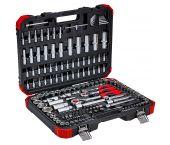 """Gedore RED R45603172 Jeu de clés à molettes 172 pièces - 1/4"""" + 3/8"""" + 1/2"""" - 3300058"""