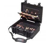 Wiha 40523 Jeu d'outils électricien Competence XL Mélangé - 80 pcs dans un coffret - 40523
