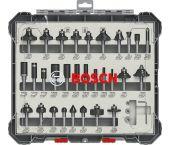 Bosch 2607017474 Set de fraisage - (30pcs) - dans une cassette - 6mm