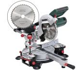 Metabo KGS 216 M Scie à onglets + lame supplémentaire 1500W - 216 x 30mm