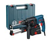 Bosch GBH 2-23 REA SDS-plus perforateur avec dispositif d'aspiration en coffret - 710W - 2.5J - 0611250500