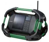 HiKOKI UR18DSDLW4Z Radio numérique sur accu - 14,4 - 18V - 2 x 7 w - 83,6 dB