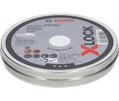 Bosch Professional 2608619266 Disques à tronçonner X-LOCK Standard pour Inox - 10 pièces