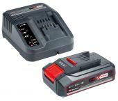 Einhell - Kit chargeur Power-X-Change 18V Li-Ion + Batterie (1x 2.5Ah)