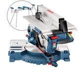Bosch GTM 12 JL Scie à table à onglets + Support pour scie (GTA 2600) - 1800W - 305mm - 0615990EU2