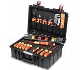Wiha 44505 - Coffret à outils pour électriciens - 34 pièces - Basic set L - 930070401