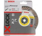 Bosch 2608615166 X-Lock - Disque diamant - Standard for Universal - 125mm
