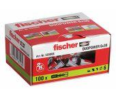 fischer 555006 Cheville Duopower 6x30-100