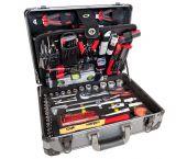 Airpress 75255 Set d'outils professionnels à 127 pièces en coffre