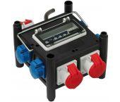 Brennenstuhl 1153690400 répartiteur de débit en caoutchouc compact BSV 3/32 2 - IP44 - 2m - H07RN-F 5G4.0