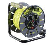 Masterplug Pro-XT - Enrouleur de câble - 40m - 4 prises - OLG40164SL-PX